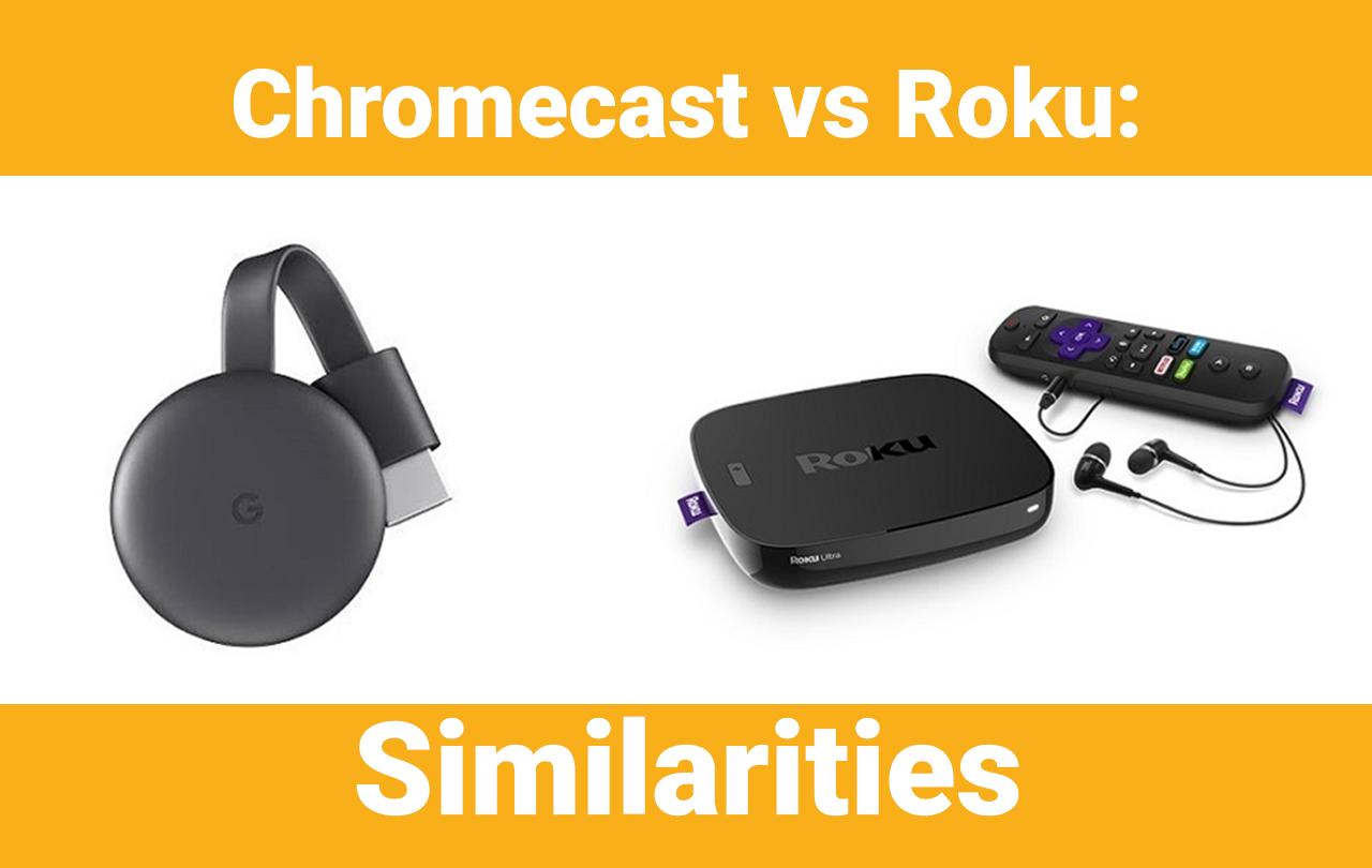 google chromecast vs roku