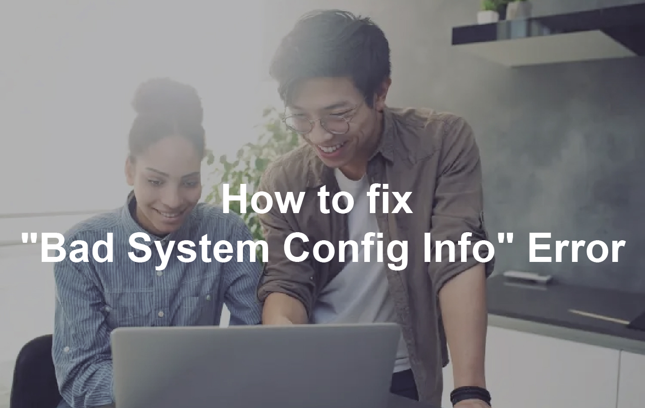 windows 10 bad system config info