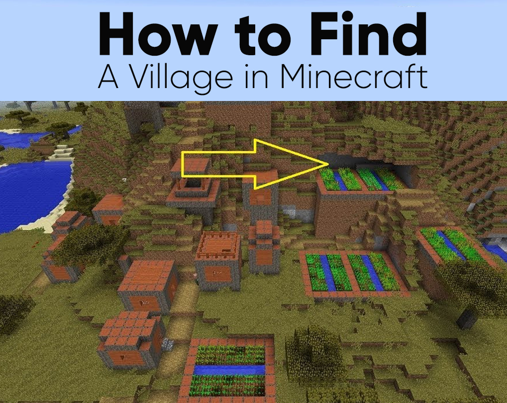 How To Find A Village In Minecraft Ps4