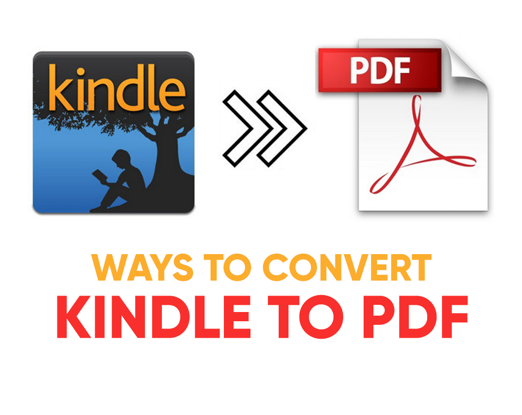 how to convert kindle to pdf