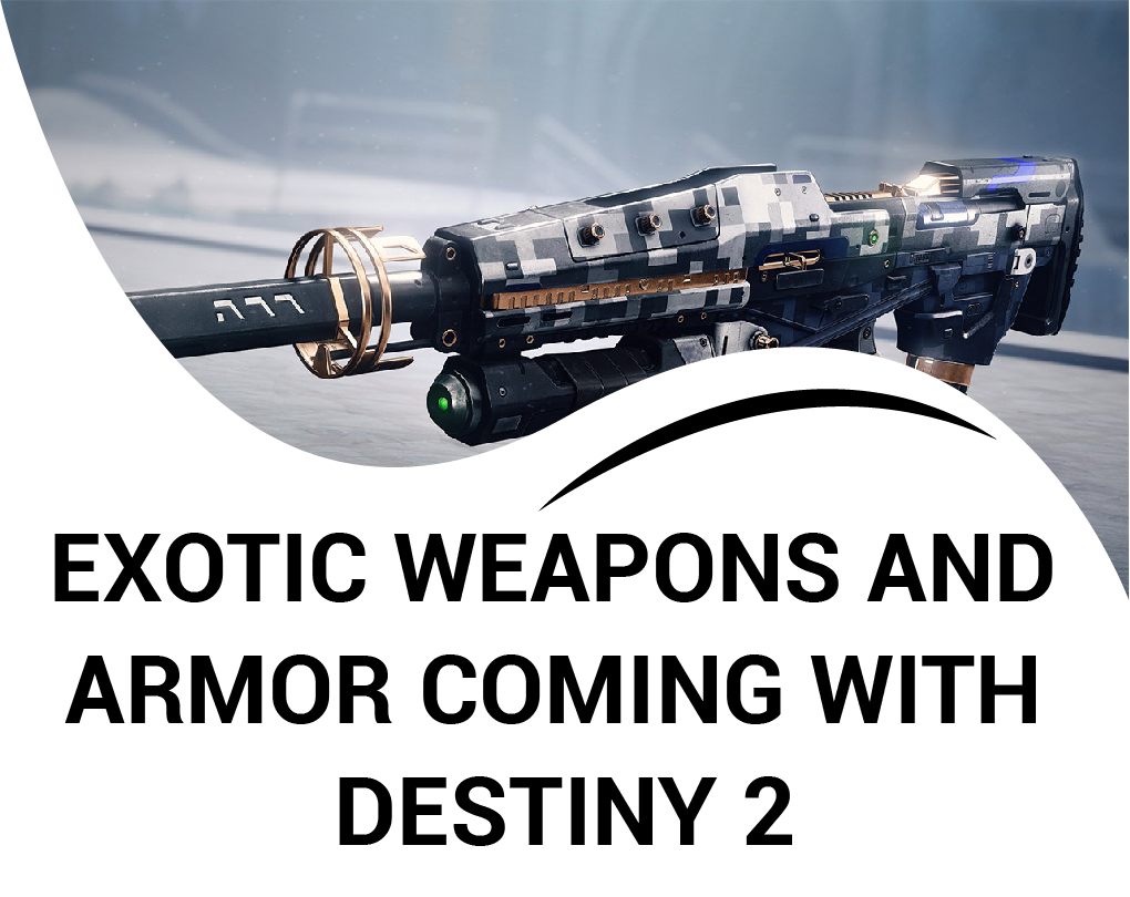 Destiny 2 Shadowkeep Exotics