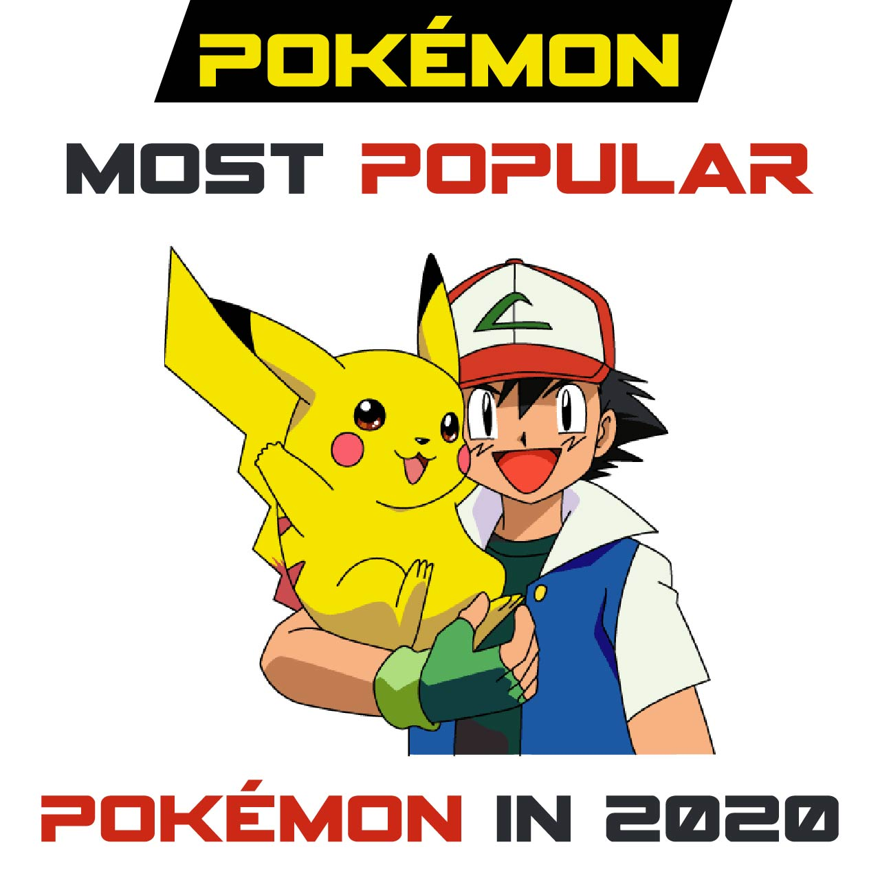 Pokémon: Most Popular Pokémon in 2021