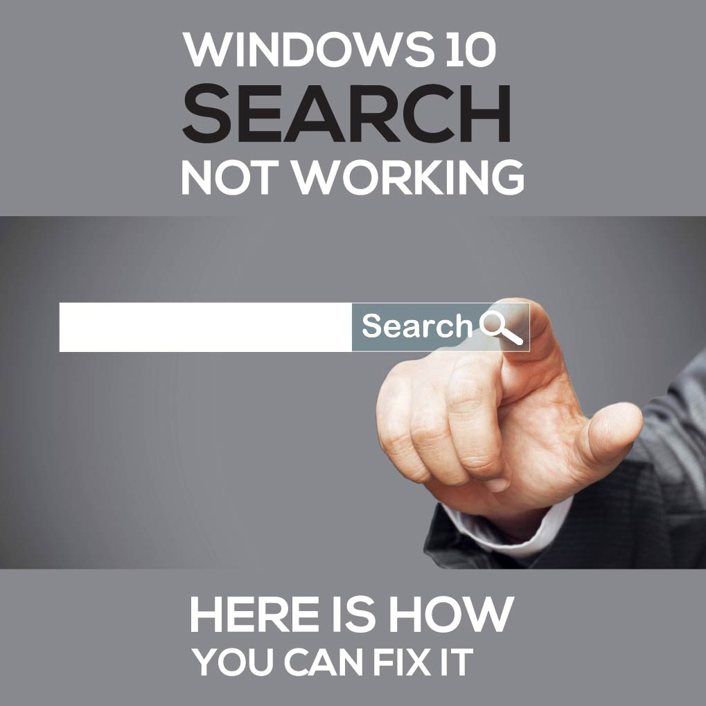 Windows 10 search not working? Here is how you can fix it