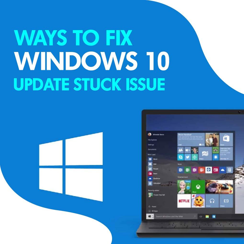 Windows 10 Update Stuck At 99