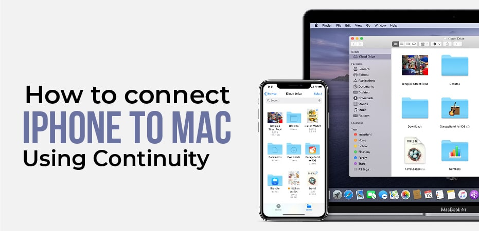 How To Connect My Iphone To My Mac