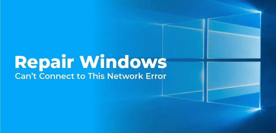 Can't Connect To This Network Windows 8